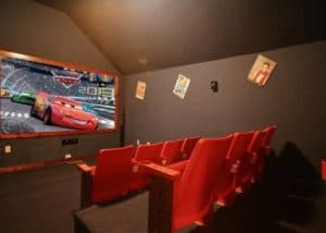 Majestic Waters theater room things to do in Galtinburg when it rains