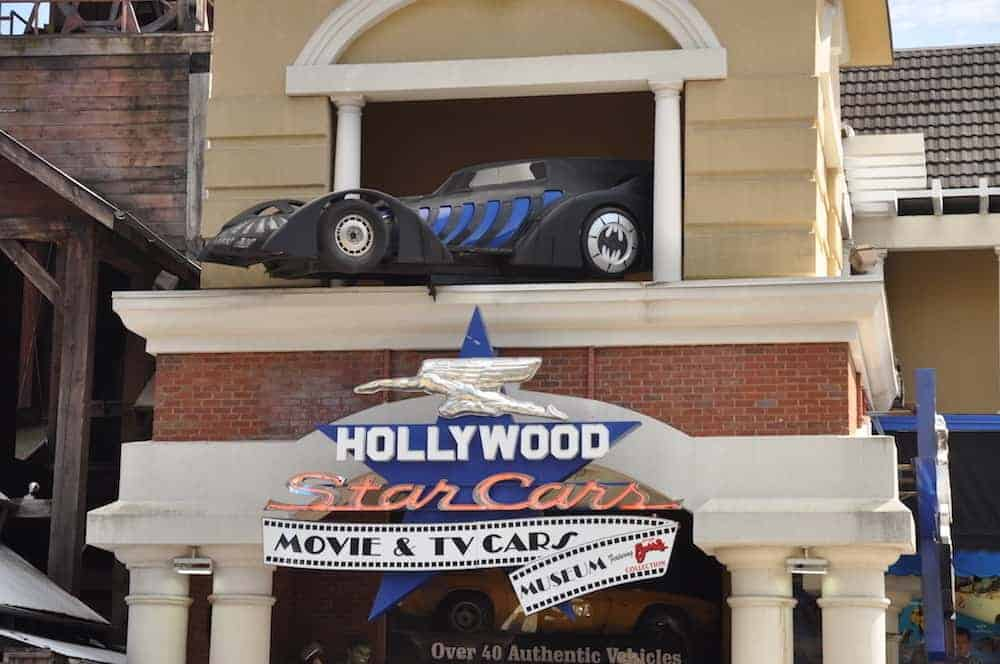 The Hollywood Star Cars Museum in Gatlinburg