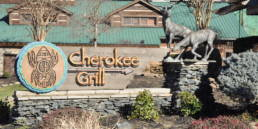 The Cherokee Grill & Steakhouse in Gatlinburg.