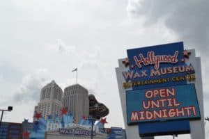 The Hollywood Wax Museum in Pigeon Forge