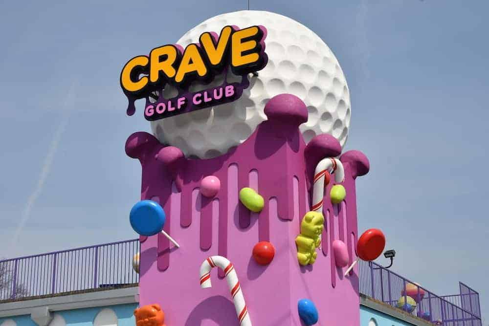 crave golf club